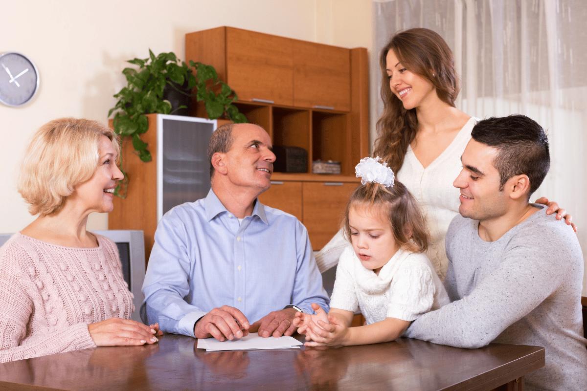 Privatkredit familile
